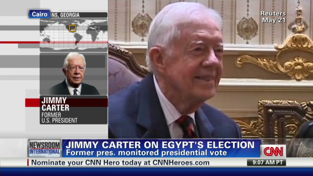 Carter: Egypt needs U.S. support