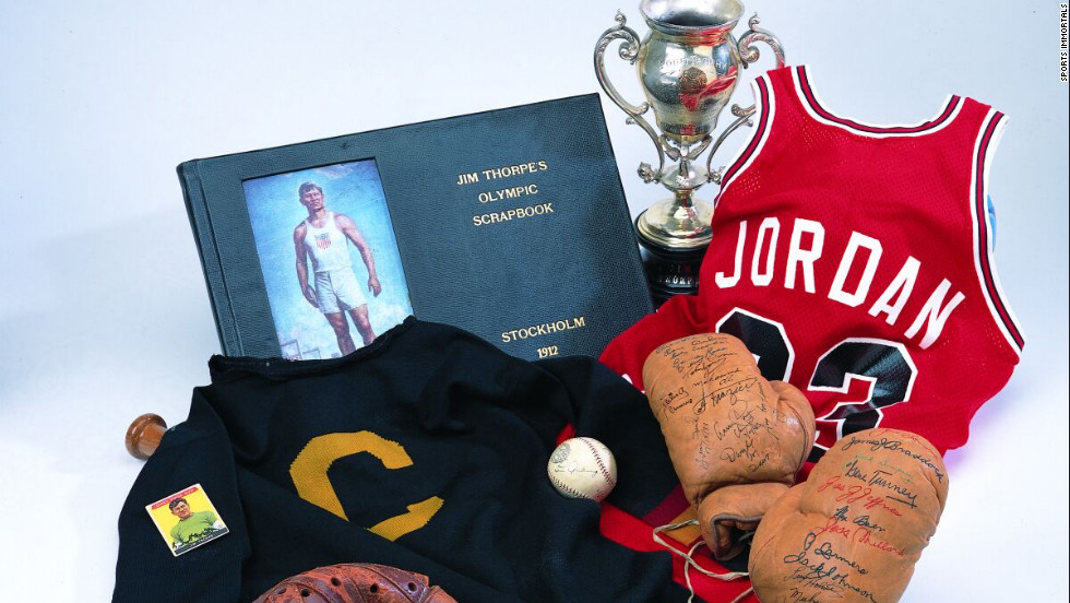 Joel Platt owns more than a million pieces of sports memorabilia.  His Sports Immortals Museum, in Boca Raton, can only hold a fraction of the collection.