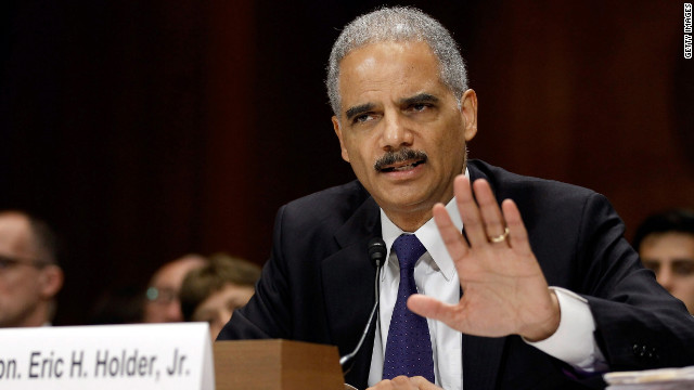 Watch lawmakers vote on Holder