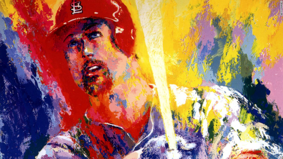 In 1999 Neiman painted a portrait of baseball star Mark McGwire, made in honor of McGwire's record-setting 70 home run season with the St. Louis Cardinals.
