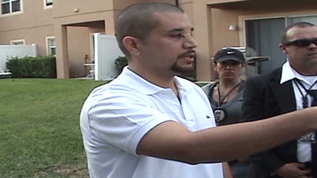 See Zimmerman reenact night of shooting