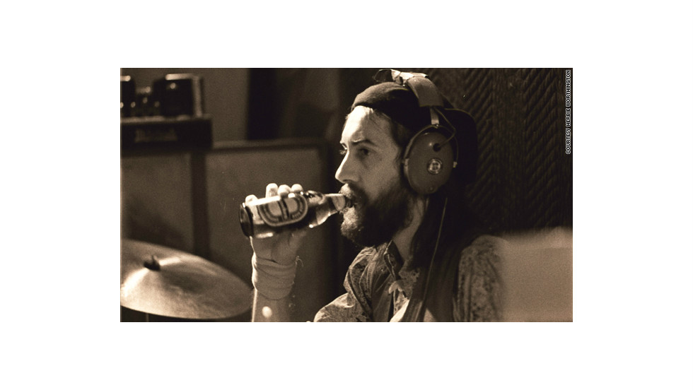 Bandleader Mick Fleetwood.