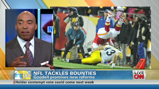 Barber on canceled NFL bounty hearings