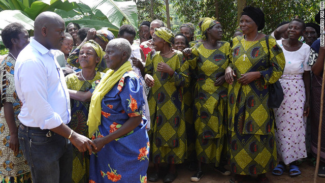 Grandmothers in Jackson Kaguri's former village urged him to do more to help. He didn't want to let them down.