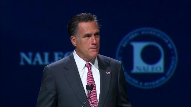 Romney talks immigration in Florida