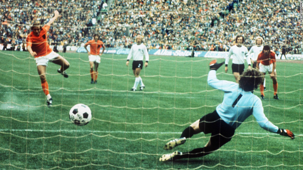 "Former Netherlands manager Rinus Michels summed up Dutch rivalry with Germany when he said ""football is war."" Due to their proximity, and the German occupation during World War II, their clash in the 1974 World Cup final was particularly toxic. Despite the Dutch playing silky football and scoring early, West Germany hit back to win 2-1."