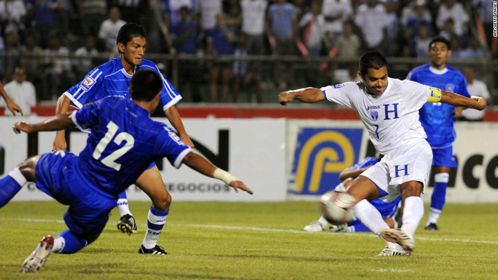 Honduras and El Salvador had been in dispute over migration and land reforms when they were drawn to play each other in qualifying for the 1970 World Cup. The two legs prompted violent clashes between fans, the cutting of diplomatic ties and skirmishes on the border before Salvador launched bombing raids shortly after. Four days later a ceasefire deal was reached. Their matches these days are more serene.