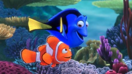 """Pixar's original """"Finding Nemo"""" features the voices of Albert Brooks and Ellen DeGeneres."""