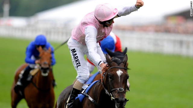 William Buick shot to the top of this year's Royal Ascot jockey standings with a trio of wins on Friday.