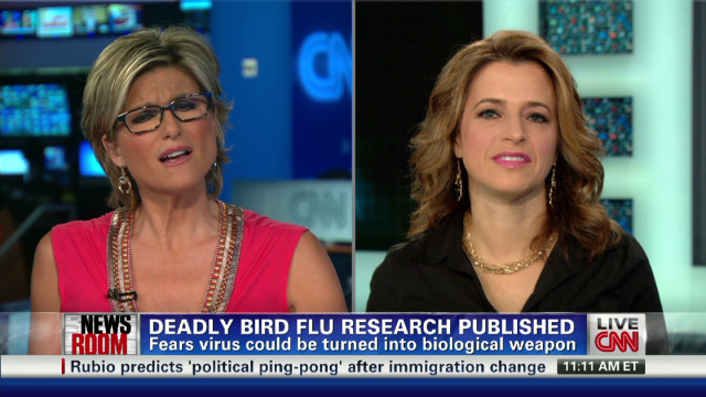 2012: Bird flu research published