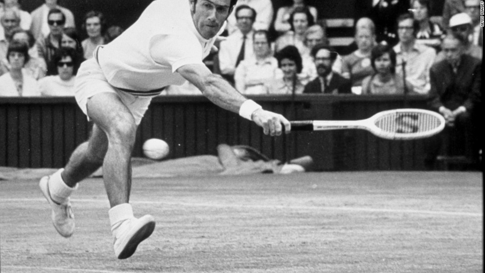 Australian Ken Rosewall adopted serve and volley during his career as a way of shortening rallies and therefore boosting his longevity. It was no coincidence that he played in his last Wimbledon final at the age of 39.
