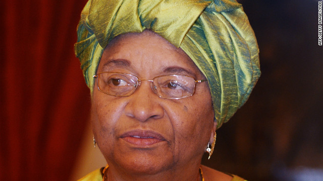 Liberian Pres.: This is a global crisis
