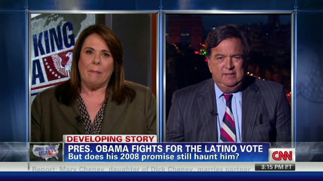 Obama fights for Latino vote