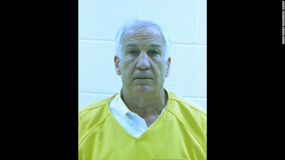 Sandusky was booked into the Centre County Correctional Facility.