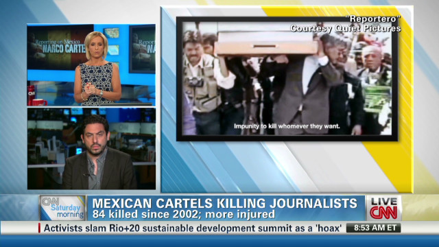 Film exposes cartels killing reporters