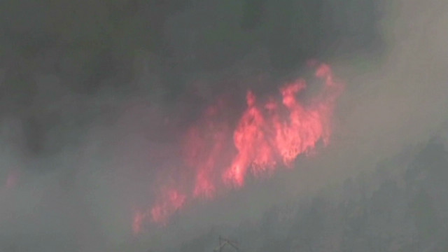Fire forces thousands from Utah homes
