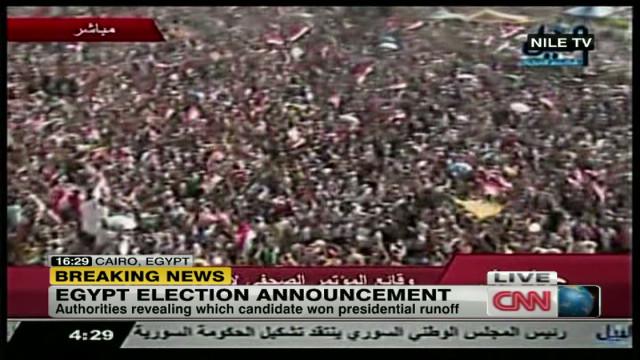 Mohamed Morsi elected Egypt's president