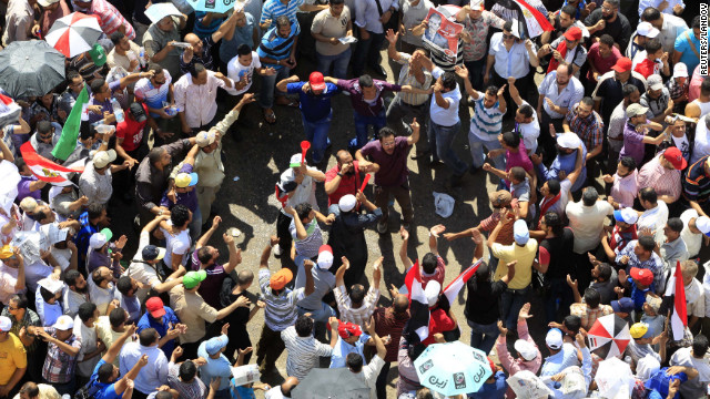 Egyptian lawmaker reacts to Morsi's win
