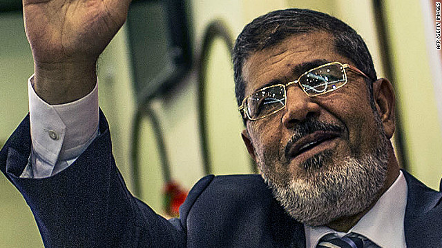 The Muslim Brotherhood's Mohamed Morsi is Egypt's first democratically elected president.