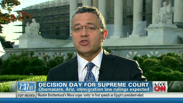 Toobin: Immigration ruling likely today