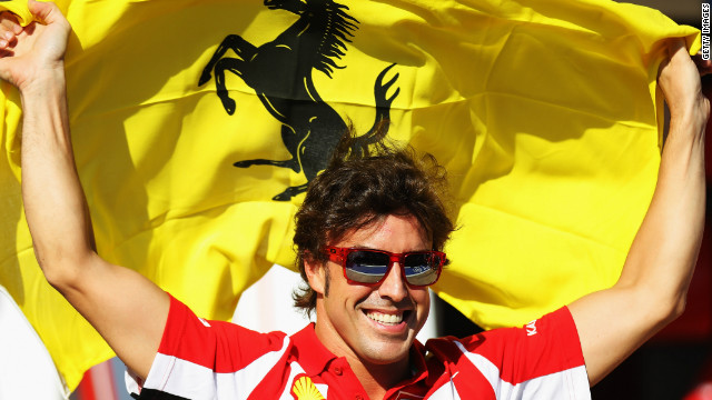 Ferrari's Fernando Alonso is the only driver to win more than one race in the current Formula One season