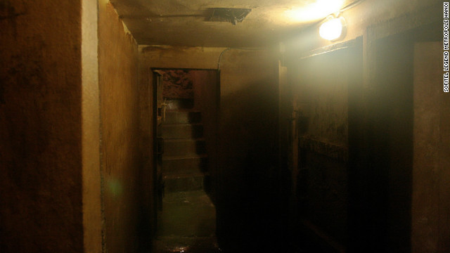 Though dark and cramped, the bunker was a lifesaver for many during the war.