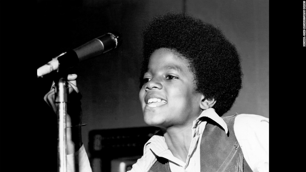 Michael Jackson quickly became the stand out star of the Jackson 5. Here he performs onstage circa 1970.