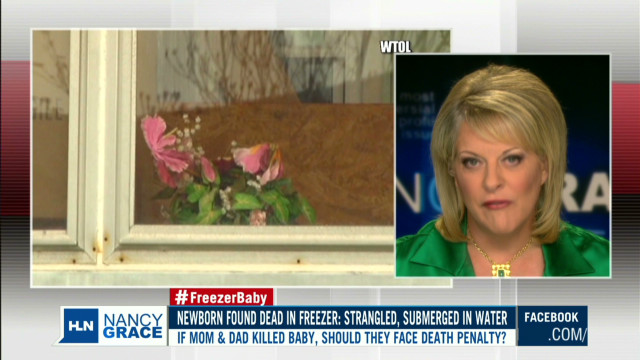 Ohio infant found dead in parents' freezer