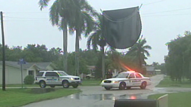 Tropical Storm Debby hits Florida