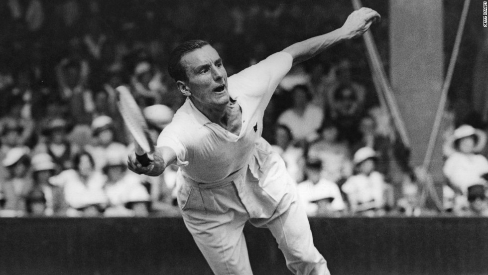 British tennis fans have to look back even further for the country's last male champion. Fred Perry was victorious at the All England Club on three occasions between 1934-36.