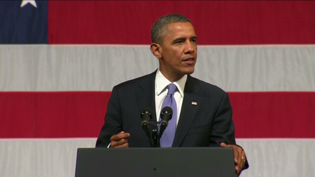 Obama mocks Romney on 'offsourcing'