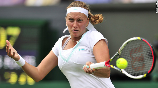 World number four Petra Kvitova's 2011 Wimbledon triumph is her only grand slam win.