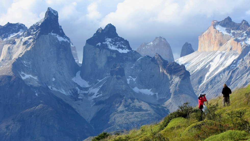 Torres del Paine: created with screen savers and inspirational corporate posters in mind.