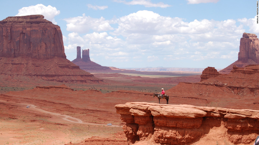 Side trips include Monument Valley, iconic filming location of countless Westerns.