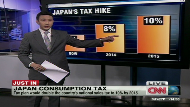Japan approves controversial sales tax