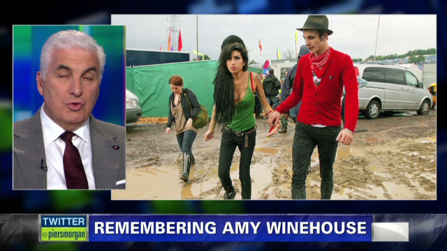 Winehouse's dad blames ex for drugs
