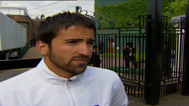 Janko Tipsarevic's goal for Wimbledon