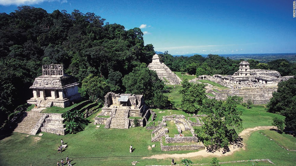 Lucky us, the world didn't end in 2012, so we still have time to see the Mayan ruins in Palenque.