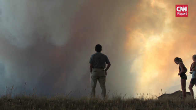 Colorado fire 'smacks you in the face'