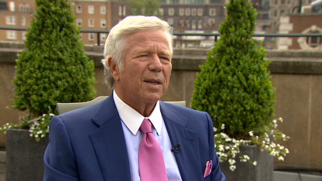 Robert Kraft, owner of the New England Patriots, says his ring was taken in 2005.