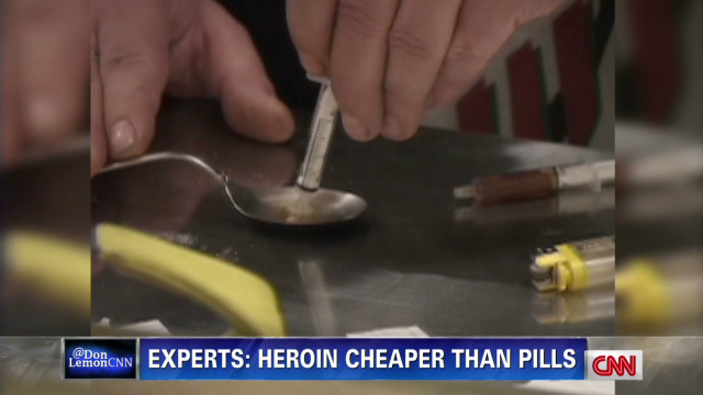 Recovering heroin addict: 'I struggled'
