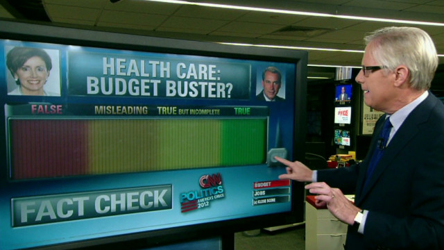 Health care budget claims explained