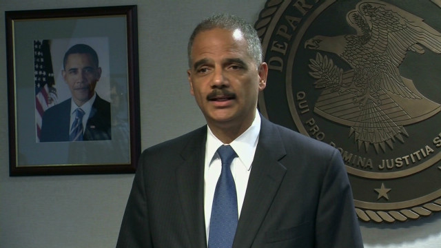 Holder: House investigation misguided
