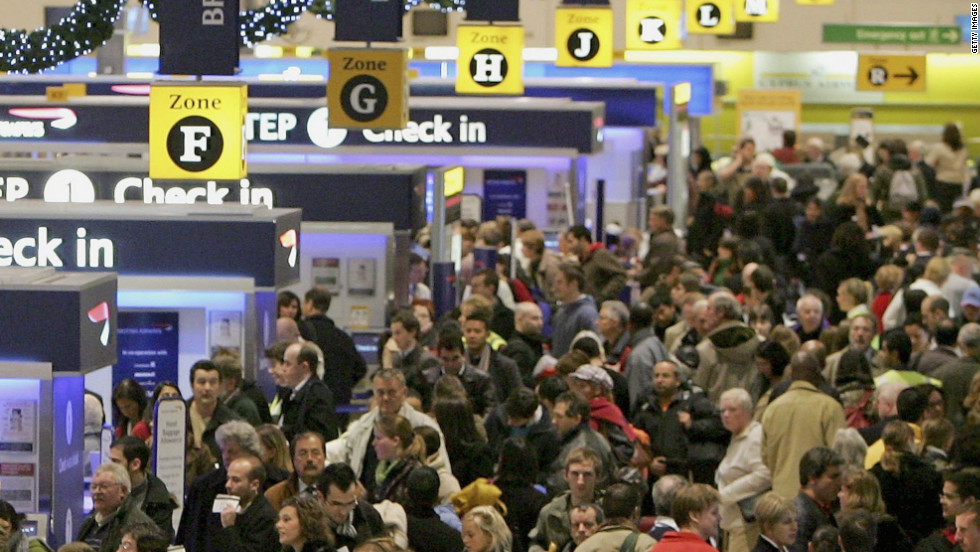 London's Heathrow has more international passengers than any other airport, according to Guinness World Records, with 67.3 million in 2013.