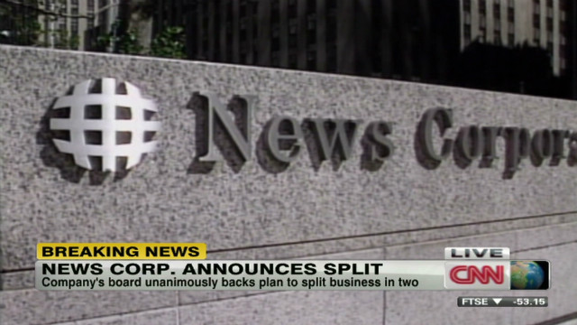 News Corp. to become two companies