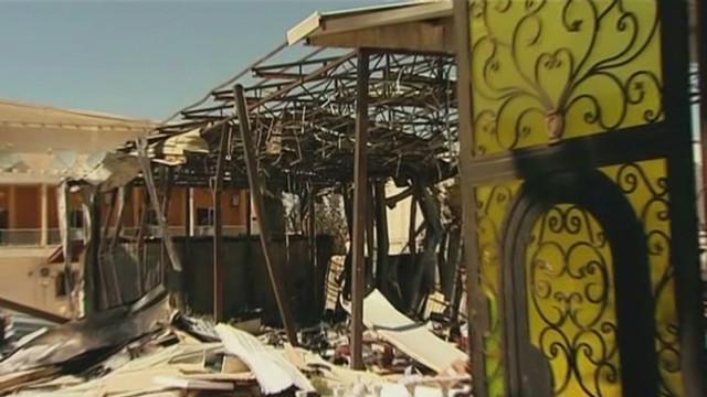 Syria-sponsored TV station attacked