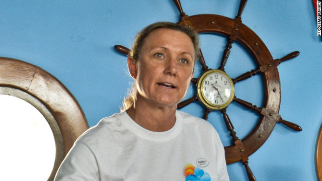 Palfrey abandons swim from Cuba to U.S.