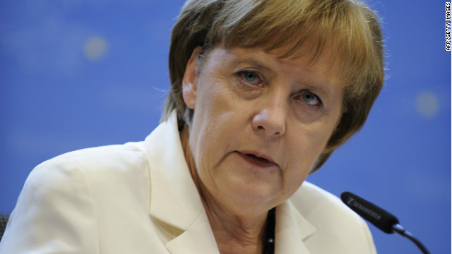 Merkel and Van Romuy meet for talks