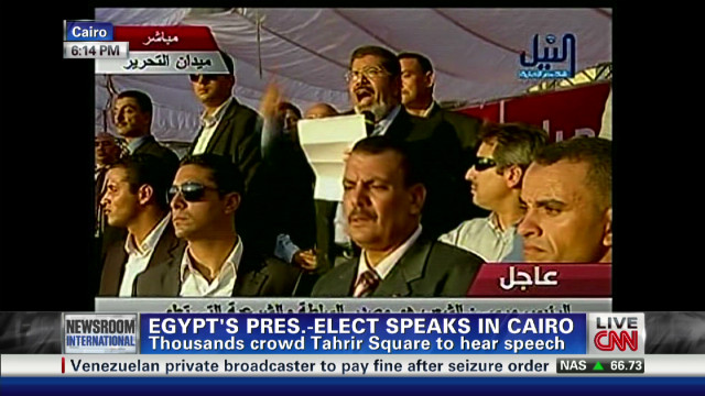 This is a big moment in Egyptian history