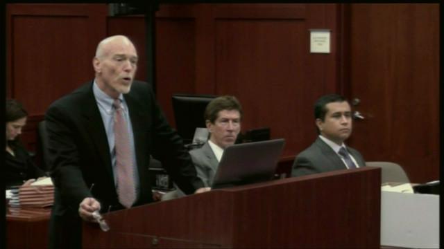 Examining Zimmerman EMT's testimony